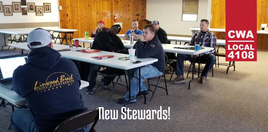 New Union Stewards December 2017