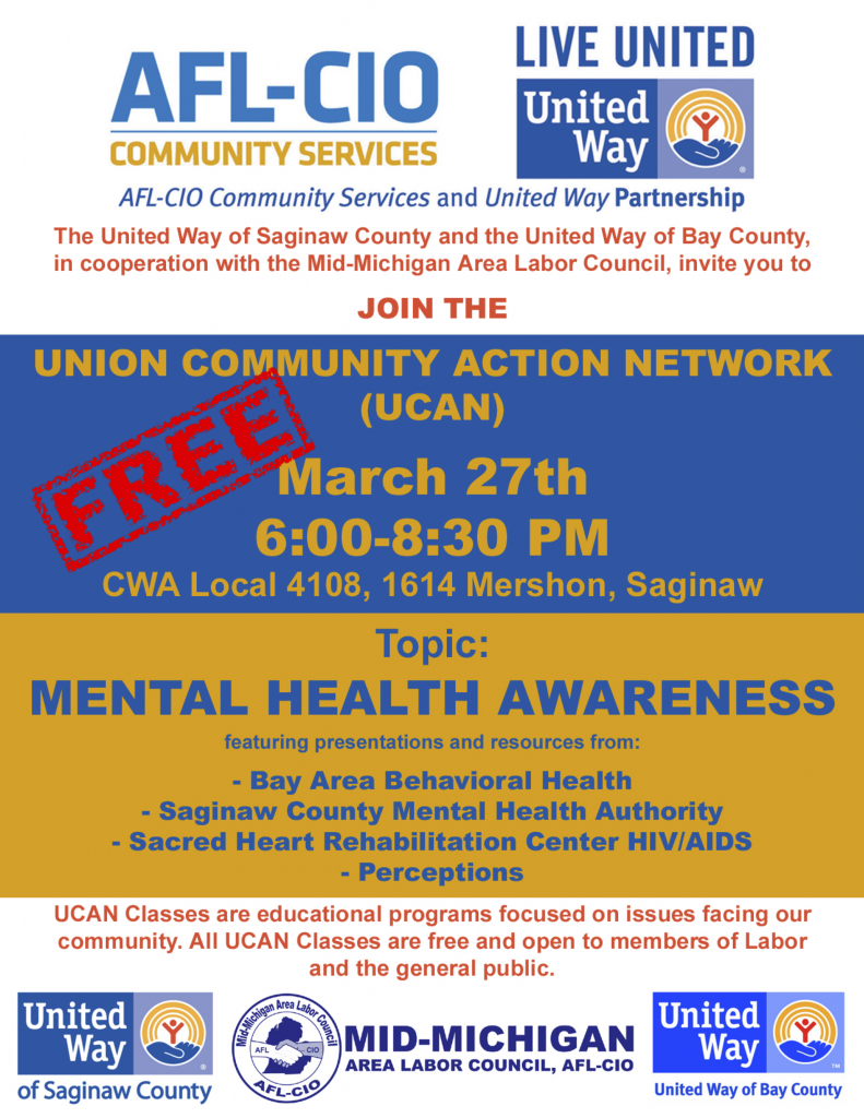 CWA Local 4108 UCAN Union Community Action Network